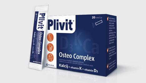 Plivit Osteo Complex – 3u1 učinak za održavanje normalnih kostiju!