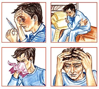 S?ntomas de la gripe
